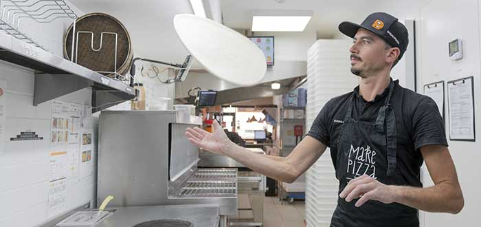 Abrir una pizzería en un local