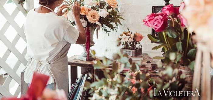 La violetera - Franquicias de floristerías