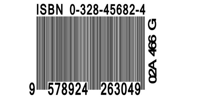 Qué es el código ISBN