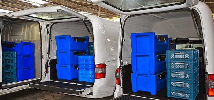 Empresa de transporte frigorífico
