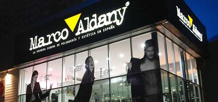 Marco Aldany - Franquicia de peluquería y estética